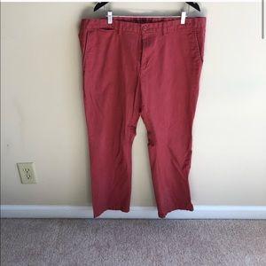 💜 Old Navy Men's Red Ultimate Slim Pants 40